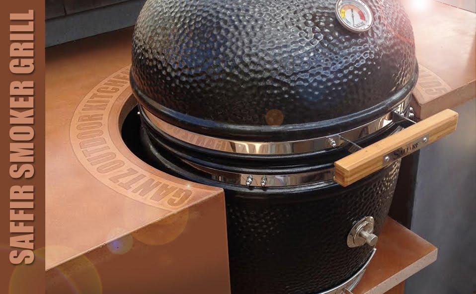 גנץ גריל מעשנת אמריקאית של חברת .jpg