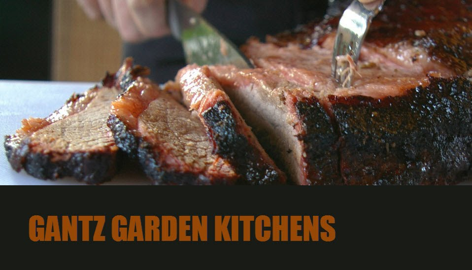 גנץ מטבחים חיצוניים לחצר לגינה או ליד הב