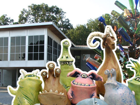 The Critters Travel to the George Berry, Sr. Gallery at the Mississippi Craft Center