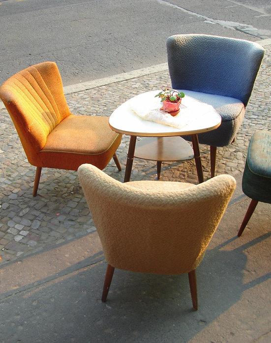 Sessel auf der Straße