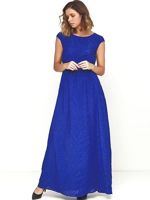 Вечірня сукня з візерунками