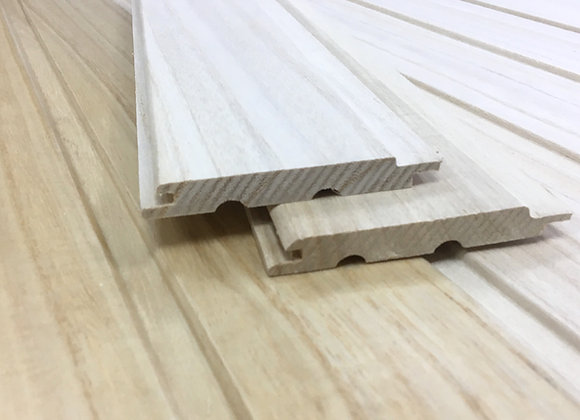 Вагонка из древесины Павловнии