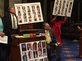 Congressman Raul Ruiz Sit-In On House Floor