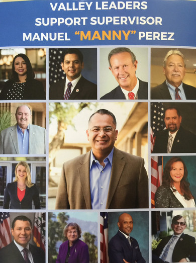 Vote for Democratic Supervisor V. Manny Perez in the June 5th Primary