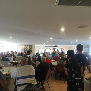 Democrats of the Desert turn out for ACLU Deputy Executive Director James Gilliam