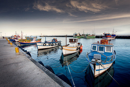 CLASSIC CAPE TOWN   KALK BAY HARBOUR by Martin Osner