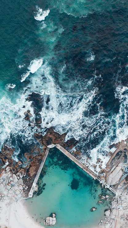 FROM ABOVE | CAMPS BAY TIDAL POOL