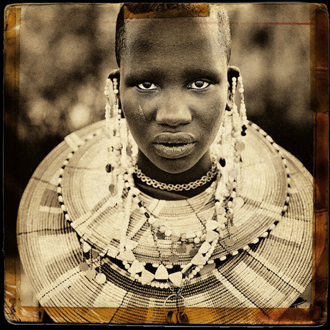 MAASAI TRIBAL PORTRAIT #1