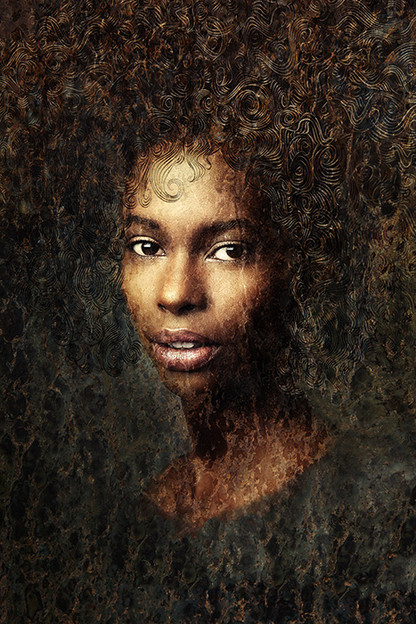 AFRICAN QUEEN #2 by Martin Osner