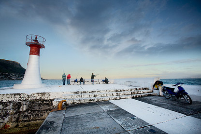 CLASSIC CAPE TOWN   KALK BAY FISHING by Martin Osner