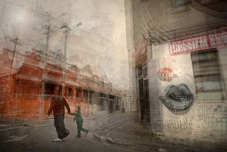 HEARTBEAT OF THE MOTHER CITY #2  by Martin Osner