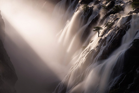 RAUCANA FALLS by Hougaard Malan