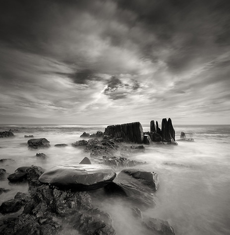 CLASSIC BW SERIES   CASTLE ROCK by Martin Osner