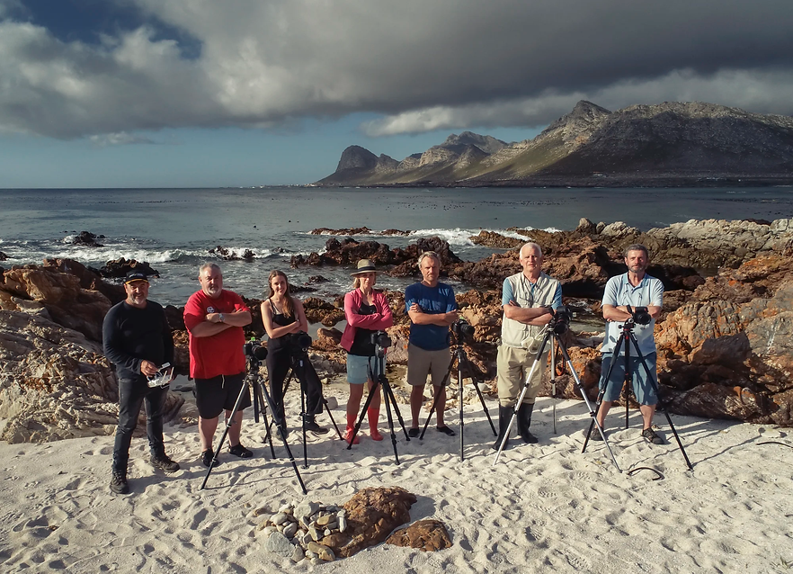 Landscape photography class, group photograph with Martin Osner.