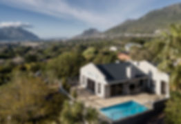 The Osner Private Gallery overlooks stunning views in Hout Bay.