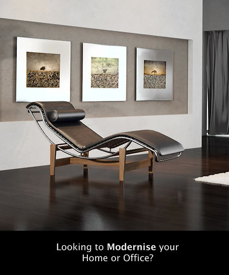 Wanting to modernise your home or office using photography