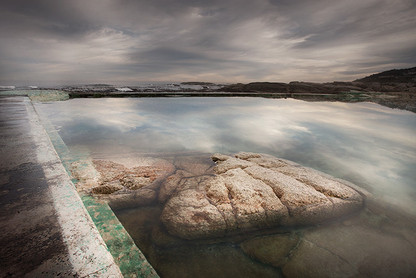 CLASSIC CAPE TOWN   CAMPS BAY TIDAL POOL by Martin Osner