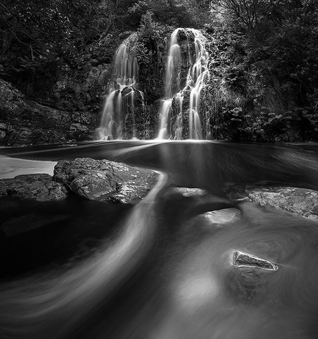 EBONY AND IVORY | TRANQUIL WATERS by Samantha Lee Osner