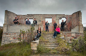 Group photograph of  the landscape photography course