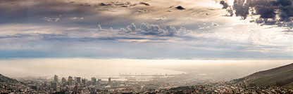 CLASSIC CAPE TOWN   MISTY MORNING MOOD by Samantha Lee Osner