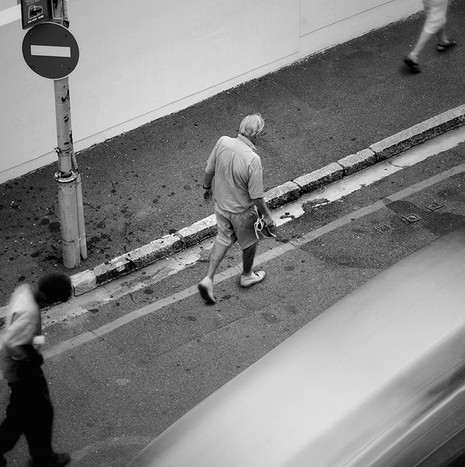 ON THE MOVE | NO ENTRY by Martin Osner