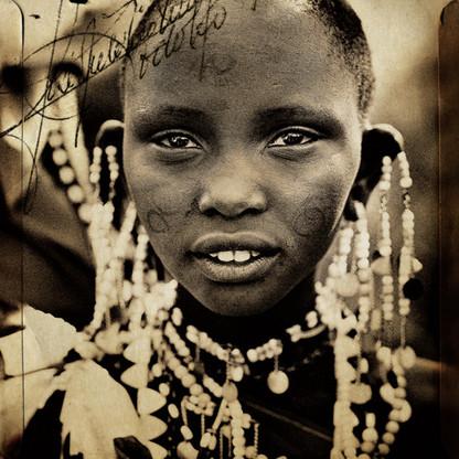MAASAI TRIBAL PORTRAIT #7