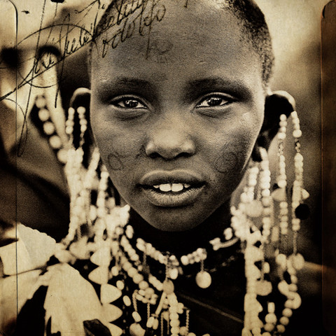 MAASAI TRIBAL PORTRAIT #7