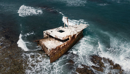 FROM ABOVE | ATLANTIC GRAVE by Martin Osner