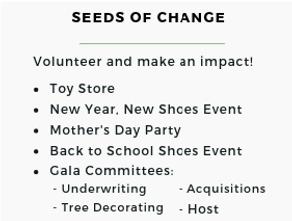 2019 Giving Tree Volunteer & Leadership