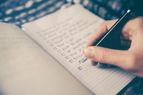 Importance of career planning starts with making a list
