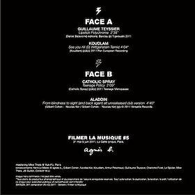 FILMER LA MUSIQUE  Mastered by Yuk-Fü Records (Koudlam, Catholic Spray, Aladdin, Guillaume Teyssier)    