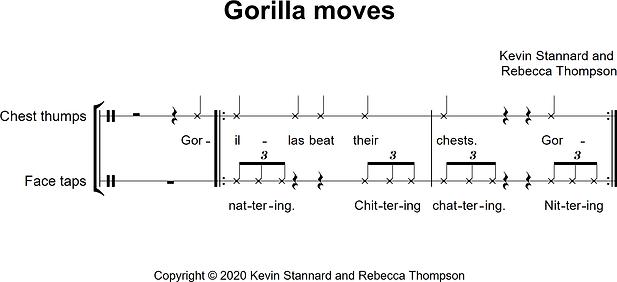 Gorilla moves