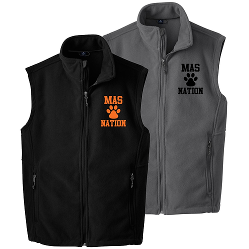 MAS Nation Fleece Vest