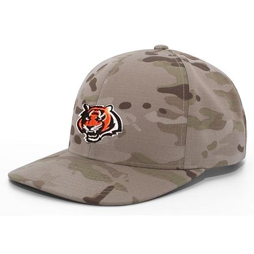 PRE ORDER - Camo Tiger Baseball Hat