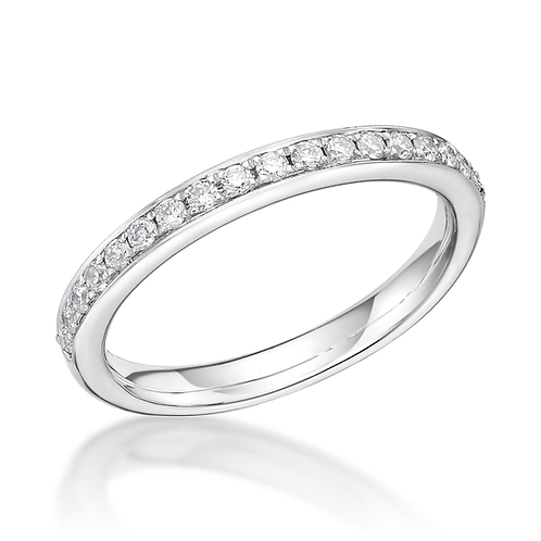 Half Eternity Pave Set 2.5mm ring