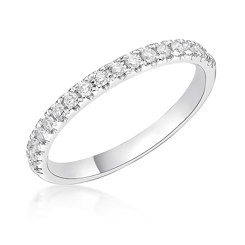 Half Eternity Micro Set 2.5mm ring