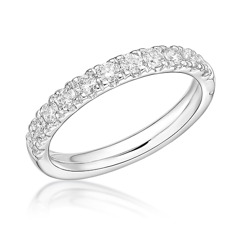 Half Eternity Micro Set 3mm ring