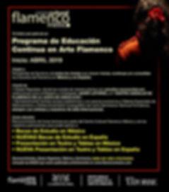Estudio flamenco, beca baile flamenco, beca flamnco, beca estudio españa, junta de andalucía, centro andaluz, javier latorre