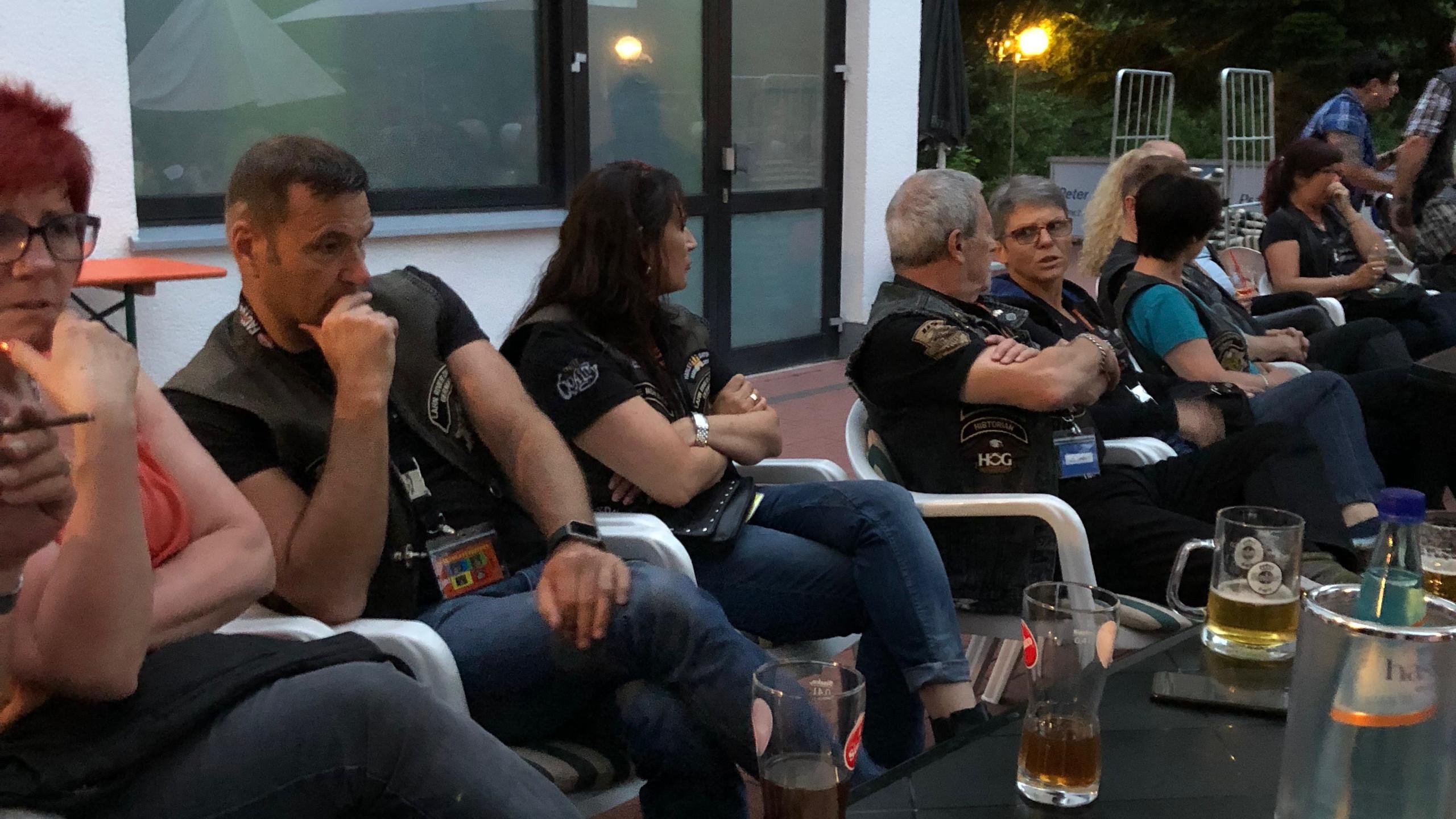 Abends Keeblatt Treffen