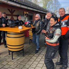LRC Ausfahrt Aartalsee und Chevy's 15.04.2018