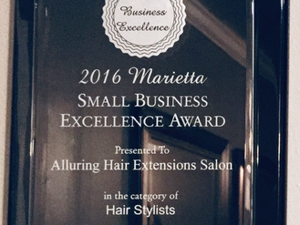 2016 SMALL BUSINESS EXCELLENCE AWARD