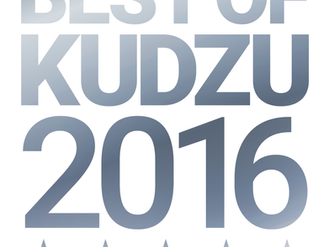 2016 Best of Kudzu Award — Three consecutive years in a row!