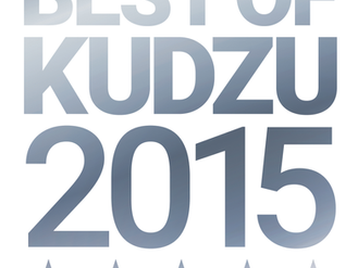 2015 BEST OF KUDZU AWARD  —  2 CONSECUTIVE YEARS IN A ROW!