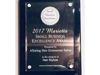2017 SMALL BUSINESS EXCELLENCE AWARD - 2 CONSECUTIVE YEARS IN A ROW!
