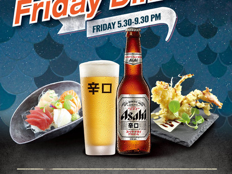 Sushi & Nori on 360 Collins Street now open for Friday Dinner!