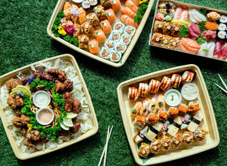 Enjoy $5 off your party platter orders at Sushi & Nori!