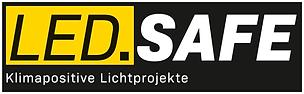 LED.SAFE-Logo (gelb-schwarz), pixel, sRG
