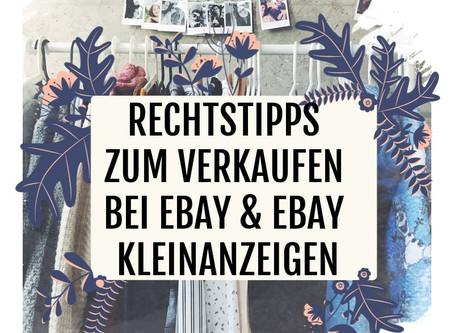 Privater Verkauf bei Ebay und Ebay Kleinanzeigen - Ausschluss der Gewährleistung?