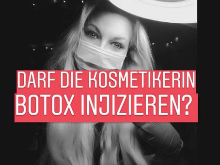 Darf meine Kosmetikerin mir Filler / Botox spritzen?