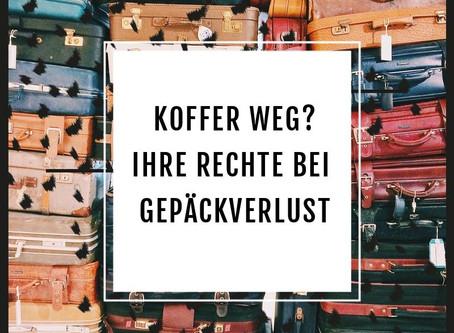 Koffer weg? - Ihre Rechte bei Gepäckverlust